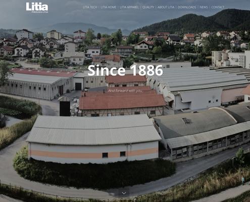 Litia: webpage